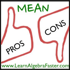 mean pros and cons com mean pros and cons