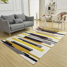 sannix soft fabric gy area rug fluffy living room carpets for home decor nursery rugs with