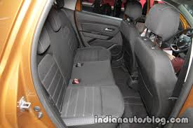 2018 renault duster india launch.  duster 2018 dacia duster rear leg room knee at iaa 2017 inside renault duster india launch