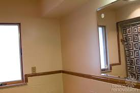 brown ceramic tile bathroom