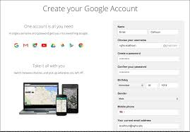 Creating An Email Creating A Google Email For Your Master Education Account Animoto Help