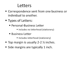 Sample Business Letter Ppt Docoments Ojazlink