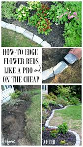edging for gardens. The Perfect Border For Your Beds Defining A Gardens Edge With Inexpensive Stone That Fitstone Edging