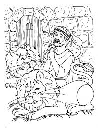 Small Picture Daniel and the lions den coloring page Bible Coloring pages