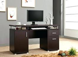 compact office cabinet. Compact Office Furniture Desk Cabinet Espresso Finish Wood For