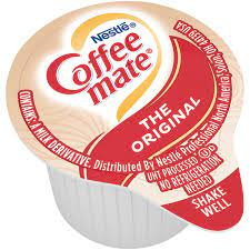 15g has 5.0g of carbohydrates content of which 4.0g is sugars component. Coffee Creamer Singles Original Coffee Mate
