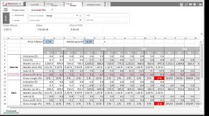 forecast model in excel planisware demo reducing errors and simplifying simulations in