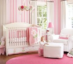 pink nursery furniture. pink baby girl nursery bedding from prottery barn furniture t