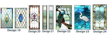 stained glass panel patterns free geometric window designs residential frank wright art stain
