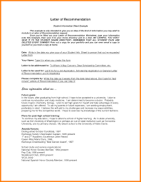 6 College Letter Of Recommendation Format Graphic Resume
