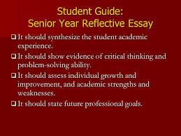 hispanic studies portfolio project ppt student guide senior year reflective essay