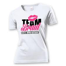 Team Braut Für Die Freundinnen Jga Shirts Frauen Jga Kingcom
