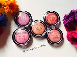 makeup revolution baked blush review