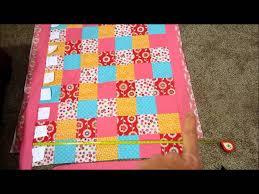 DIY Baby Quilt Tutorial Part 1 - YouTube &  Adamdwight.com