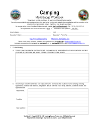 cooking merit badge worksheet answers cooking merit badge worksheet worksheets for all download and