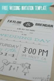 wedding invite template download free printable wedding invitation templates download rustic