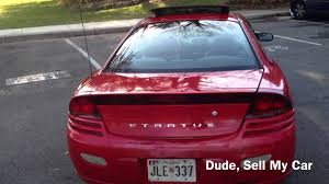 2001 Dodge Stratus Coupe RT - YouTube