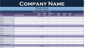 Basic Budget Template Simple Household Word Excel Free