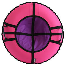 <b>Тюбинг Hubster Ринг Хайп</b> розовый-фиолетовый, 90 см