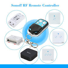 <b>Sonoff Wireless 4</b> Channel WIFI Remote Controller For 433MHz RF ...