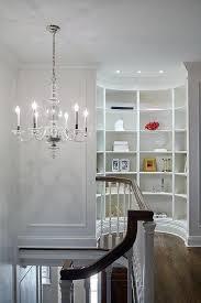 second floor landing curved bookcase nook jpg