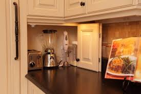 storage s for small apartments build a kitchen appliance garage using a cabinet door