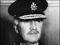 Former Chief Constable Kenneth Steele. Mr Steele was chief constable of the force between 1974 and 1979 - _44569132_police203