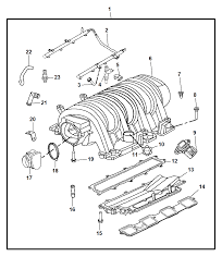 2010 dodge charger intake manifold