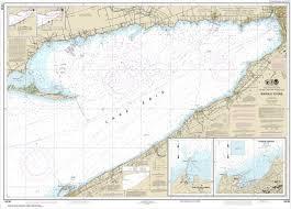 Noaa Chart Buffalo To Erie Dunkirk Barcelone Harbor 14838
