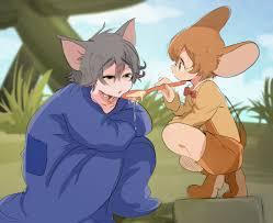 Pinterest | Anime vs cartoon, Tom and jerry cartoon, Cartoon as anime
