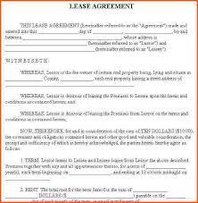 house rental agreement sample 12 house rental agreement template survey template words