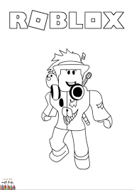 Select from 35418 printable crafts of cartoons click the roblox guest coloring pages to view printable version or color it online (compatible with. Roblox Avatar Coloring Page Coloringwithkids Com