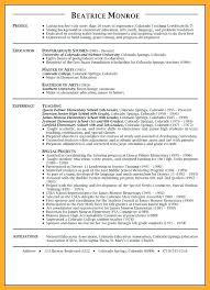 Elementary School Teacher Resume Gorgeous Experienced Teacher Resume Samples Dewdrops