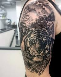 tiger roar tattoo. Simple Tattoo Tiger Arm Tattoo For Men Intended Roar