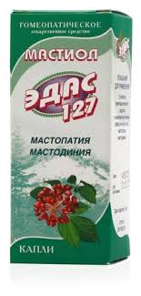 <b>Мастиол Эдас</b>-<b>127 Капли</b> гомеопатические 25мл — купить по ...