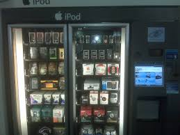 Airport Vending Machines Extraordinary Apple IPod Vending Machine At Airports Around USA Minter Dial