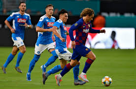 With every new match, napoli is proving that the dip in form they in their 10 most recent clashes, barcelona recorded exact same results as their upcoming opponent. Fc Barcelona Triumphs Against Ssc Napoli At Hard Rock Stadium South Florida Sun Sentinel South Florida Sun Sentinel