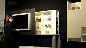 Mobile porta tv apribile con contenitori porta cd dvd di astor