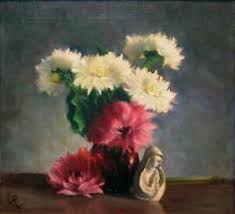 """Eleanore Perry """"Still Life"""" Signed Original Oil Painting, flowers ..."""