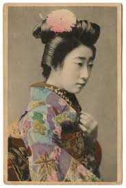 kimono is one of the defining characteristics of a geisha geisha wear kimono with a neckline that dips low on the back to show off the nap of the neck