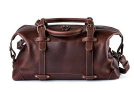 heritage leather duffle bag seconds