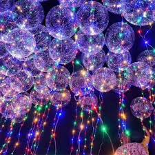 Christmas Theme Party Led Lights Balloon Deocration Ideas Best