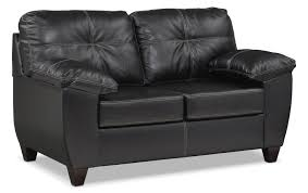 ricardo queen memory foam sleeper sofa and loveseat set onyx