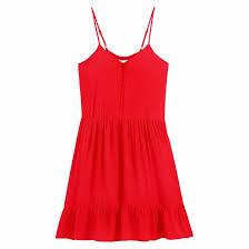 <b>Платье короткое</b> на тонких бретелях <b>La Redoute</b> Collections Plus ...