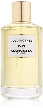 MANCERA Eau de Parfum Spray, Gold Incense, 4 Fl ... - Amazon.com