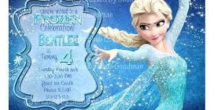 Frozen Birthday Invitations Wording Cosmit