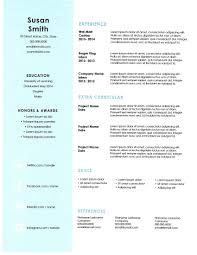 Awesome Free Resume Extractor Images Entry Level Resume Templates