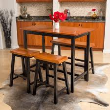 dining set wood. pomeroy 4-piece wood dining set by christopher knight home i