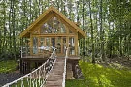 The Best Holiday Treehouses In The UK  Travel  The GuardianFamily Treehouse Holidays Uk