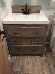 Bathroom Vanities Bay Area Delectable Glacier Bay Woodbrook 4848 In W Vanity In White Washed Oak With